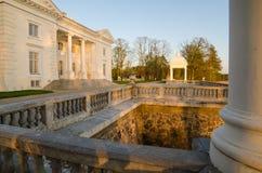 Παλάτι Uzutrakis στη Λιθουανία Στοκ Εικόνα