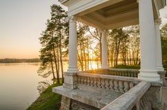 Παλάτι Uzutrakis στη Λιθουανία Στοκ Φωτογραφίες