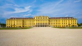 Παλάτι Viena Αυστρία Schönbrunn Στοκ Εικόνες