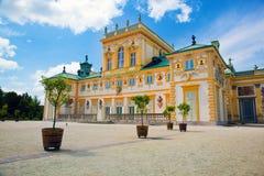 Παλάτι Wilanow στη Βαρσοβία, Πολωνία Στοκ Εικόνες