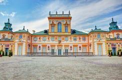 Παλάτι Wilanow στη Βαρσοβία, Πολωνία στοκ φωτογραφίες