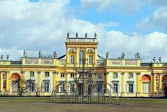 Παλάτι Wilanow Στοκ εικόνα με δικαίωμα ελεύθερης χρήσης