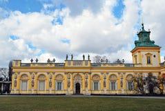 Παλάτι Wilanow Στοκ φωτογραφία με δικαίωμα ελεύθερης χρήσης