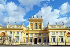 Παλάτι Wilanow Στοκ Εικόνες