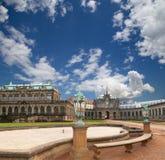 Παλάτι Zwinger (Der Dresdner Zwinger) στη Δρέσδη, Γερμανία Στοκ Εικόνες