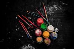 Παλέτα καλλιτεχνών στοκ εικόνες με δικαίωμα ελεύθερης χρήσης