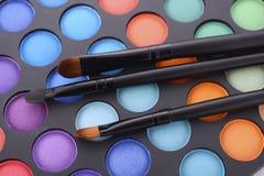 Παλέτα σκιών ματιών Makeup Στοκ φωτογραφία με δικαίωμα ελεύθερης χρήσης