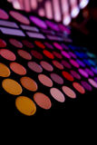 Παλέτα σκιών makeup στοκ εικόνα με δικαίωμα ελεύθερης χρήσης