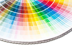 Παλέτα χρώματος, οδηγός χρώματος, δείγματα χρωμάτων, κατάλογος χρώματος Στοκ φωτογραφίες με δικαίωμα ελεύθερης χρήσης