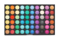 Παλέτα χρώματος Makeup Στοκ εικόνες με δικαίωμα ελεύθερης χρήσης