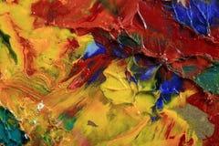 παλέτα s καλλιτεχνών στοκ φωτογραφία με δικαίωμα ελεύθερης χρήσης