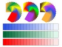 Παλέτες χρώματος Στοκ εικόνα με δικαίωμα ελεύθερης χρήσης