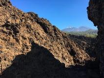 παλίρροια Εθνικό πάρκο Teide πεζοπορία tenerife Στοκ Φωτογραφίες