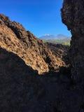 παλίρροια Εθνικό πάρκο Teide πεζοπορία tenerife Στοκ Εικόνες