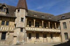 Παλαιάς και γραφικής πόλη της Γαλλίας, του Beaune Στοκ Εικόνα