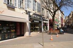 Παλαιάς και γραφικής πόλη της Γαλλίας, του Beaune Στοκ εικόνα με δικαίωμα ελεύθερης χρήσης