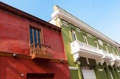 Παλαιά άποψη αρχιτεκτονικής του της Λίμα Περού Στοκ εικόνα με δικαίωμα ελεύθερης χρήσης