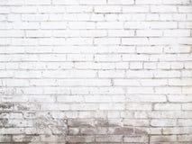 Παλαιά άσπρη σύσταση τουβλότοιχος για το υπόβαθρο έτοιμο για το Di προϊόντων στοκ εικόνα με δικαίωμα ελεύθερης χρήσης