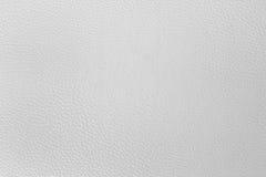 Παλαιά άσπρη σύσταση leatherette για το υπόβαθρο Στοκ Εικόνες