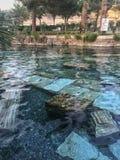 Παλαιά λίμνη Pamukkale στην Τουρκία Στοκ εικόνες με δικαίωμα ελεύθερης χρήσης