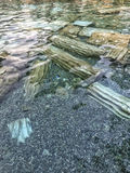 Παλαιά λίμνη Pamukkale στην Τουρκία Στοκ εικόνα με δικαίωμα ελεύθερης χρήσης