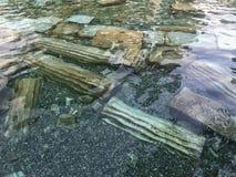 Παλαιά λίμνη Pamukkale στην Τουρκία Στοκ Εικόνα