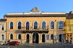 Παλαιά αίθουσα πόλεων του Cluj Napoca Στοκ φωτογραφία με δικαίωμα ελεύθερης χρήσης