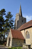 Παλαιά αγγλική εκκλησία. Στοκ Φωτογραφίες