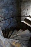 Παλαιά αγγλική σκάλα Στοκ φωτογραφίες με δικαίωμα ελεύθερης χρήσης