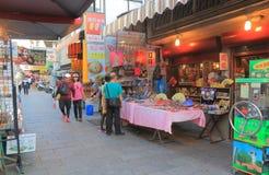 Παλαιά αγορά Ταϊνάν Ταϊβάν οδών Anping Στοκ εικόνα με δικαίωμα ελεύθερης χρήσης