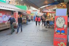Παλαιά αγορά Ταϊνάν Ταϊβάν οδών Anping Στοκ Φωτογραφία