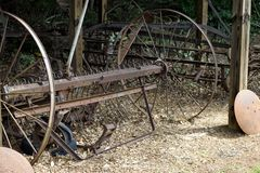 Παλαιά αγροτική αγροτική μηχανή Στοκ Φωτογραφίες
