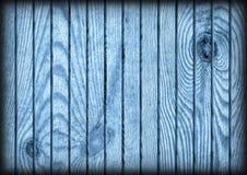Παλαιά αγροτική μπλε σύσταση Vignetted Grunge δαπέδων ξύλου πεύκων Στοκ εικόνα με δικαίωμα ελεύθερης χρήσης