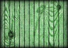 Παλαιά αγροτική πράσινη σύσταση Vignetted Grunge δαπέδων ξύλου πεύκων Στοκ φωτογραφίες με δικαίωμα ελεύθερης χρήσης