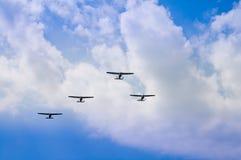 Παλαιά αεροπλάνα στοκ φωτογραφία