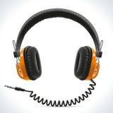 Παλαιά ακουστικά Στοκ Φωτογραφίες