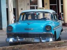 Παλαιά αμερικανικά αυτοκίνητα στην Κούβα Στοκ Εικόνες