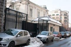 Παλαιά αμερικανική πρεσβεία Στοκ Εικόνες