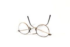 παλαιά ανάγνωση γυαλιών Στοκ Εικόνες