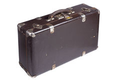 Παλαιά αναδρομική βαλίτσα Στοκ φωτογραφίες με δικαίωμα ελεύθερης χρήσης