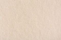 Παλαιά ανοικτό καφέ σύσταση εγγράφου κρέμας Στοκ Φωτογραφία