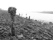 παλαιά αποβάθρα Στοκ φωτογραφία με δικαίωμα ελεύθερης χρήσης