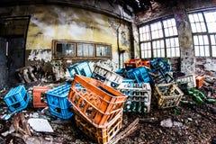 παλαιά αποθήκη εμπορευμάτων Στοκ Εικόνα