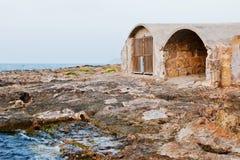 Αποθήκη στην παραλία Στοκ εικόνες με δικαίωμα ελεύθερης χρήσης