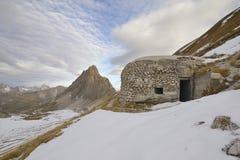 Παλαιά αποθήκη - Vallo Alpino Στοκ φωτογραφίες με δικαίωμα ελεύθερης χρήσης