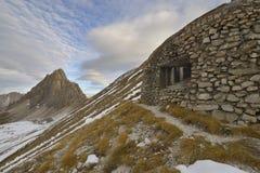 Παλαιά αποθήκη - Vallo Alpino Στοκ φωτογραφία με δικαίωμα ελεύθερης χρήσης
