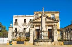 Παλαιά αρχιτεκτονική στην Κούβα Στοκ Εικόνες