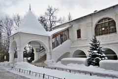 Παλαιά αρχιτεκτονική του πάρκου Kolomenskoye Kazan καθεδρικός ναός εικονιδίων Στοκ Εικόνες