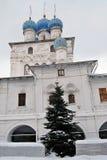 Παλαιά αρχιτεκτονική του πάρκου Kolomenskoye Kazan καθεδρικός ναός εικονιδίων Στοκ Φωτογραφία