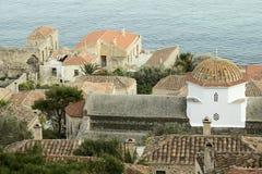 Παλαιά αρχιτεκτονική Monemvasia Στοκ φωτογραφίες με δικαίωμα ελεύθερης χρήσης